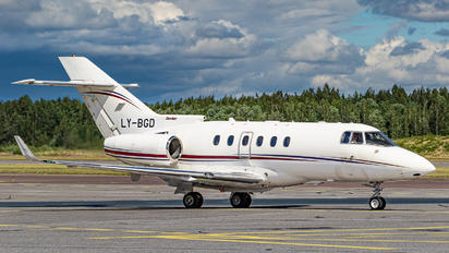LY-BGD - Charter Jets Hawker Beechcraft 850XP