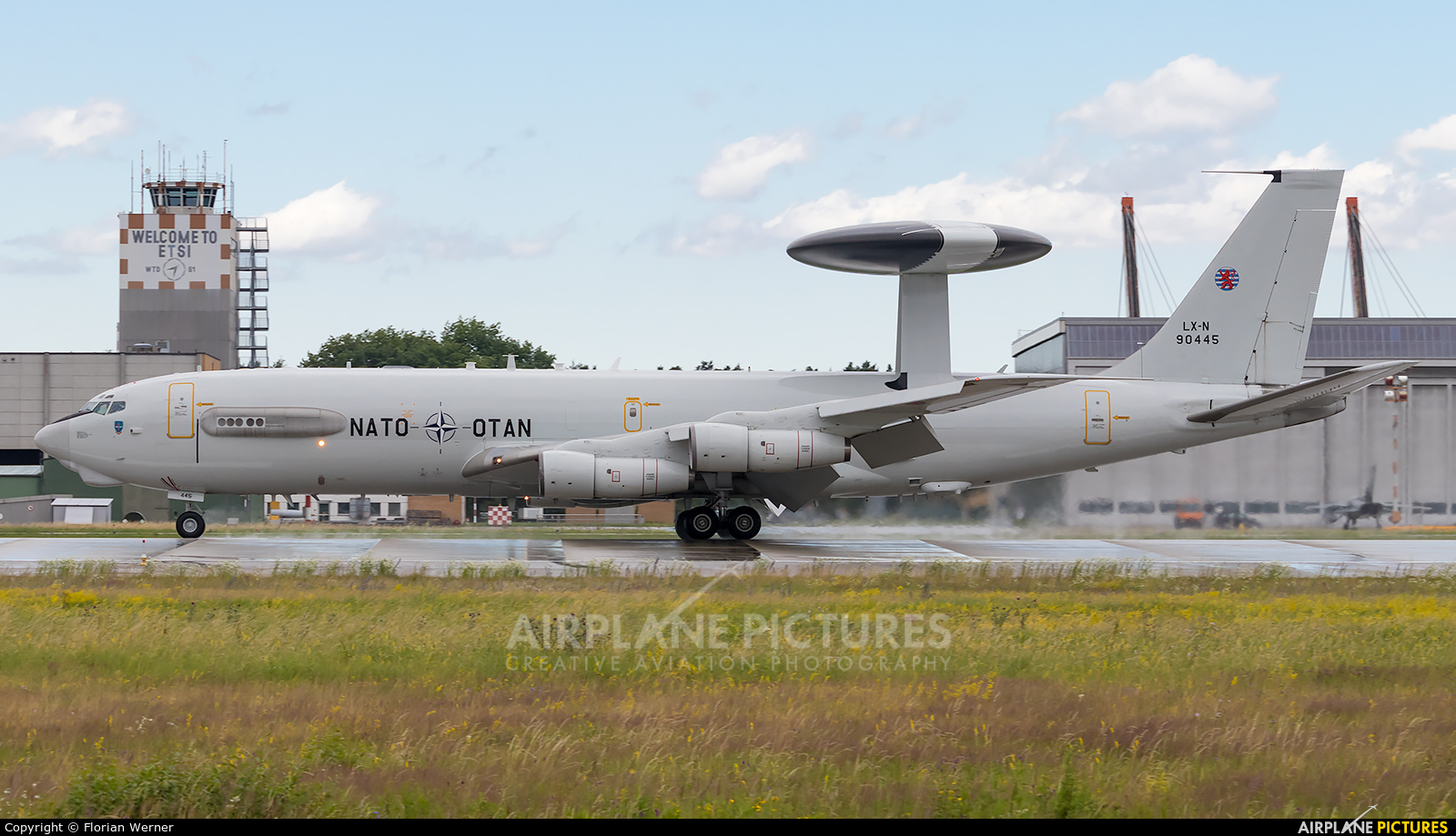 NATO LX-N90445 aircraft at Ingolstadt - Manching