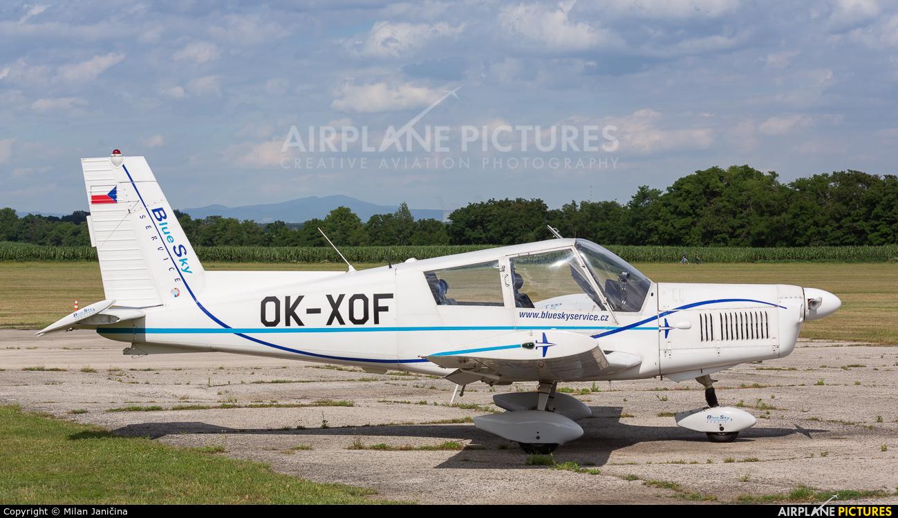 Blue Sky Service OK-XOF aircraft at Trnava- Boleráz
