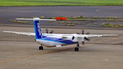 JA464A - ANA Wings de Havilland Canada DHC-8-400Q / Bombardier Q400