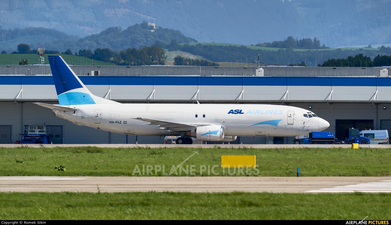 ASL Airlines HA-FAZ aircraft at Ostrava Mošnov