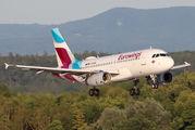 D-AGWB - Eurowings Airbus A319 aircraft