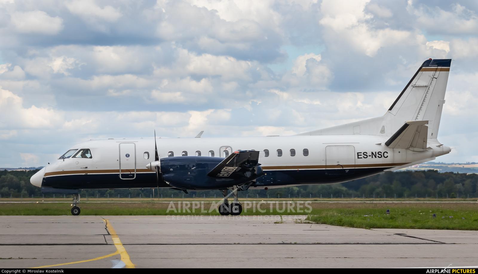 NYX AIR ES-NSC aircraft at Ostrava Mošnov