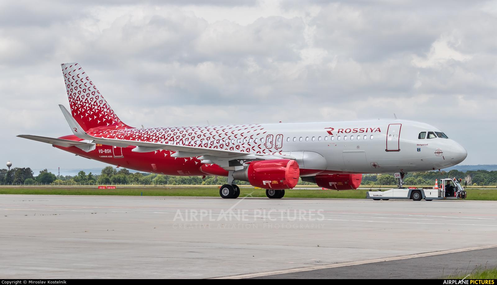 Rossiya VQ-BSH aircraft at Ostrava Mošnov
