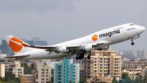Magma Boeing 747F visited Mumbai title=