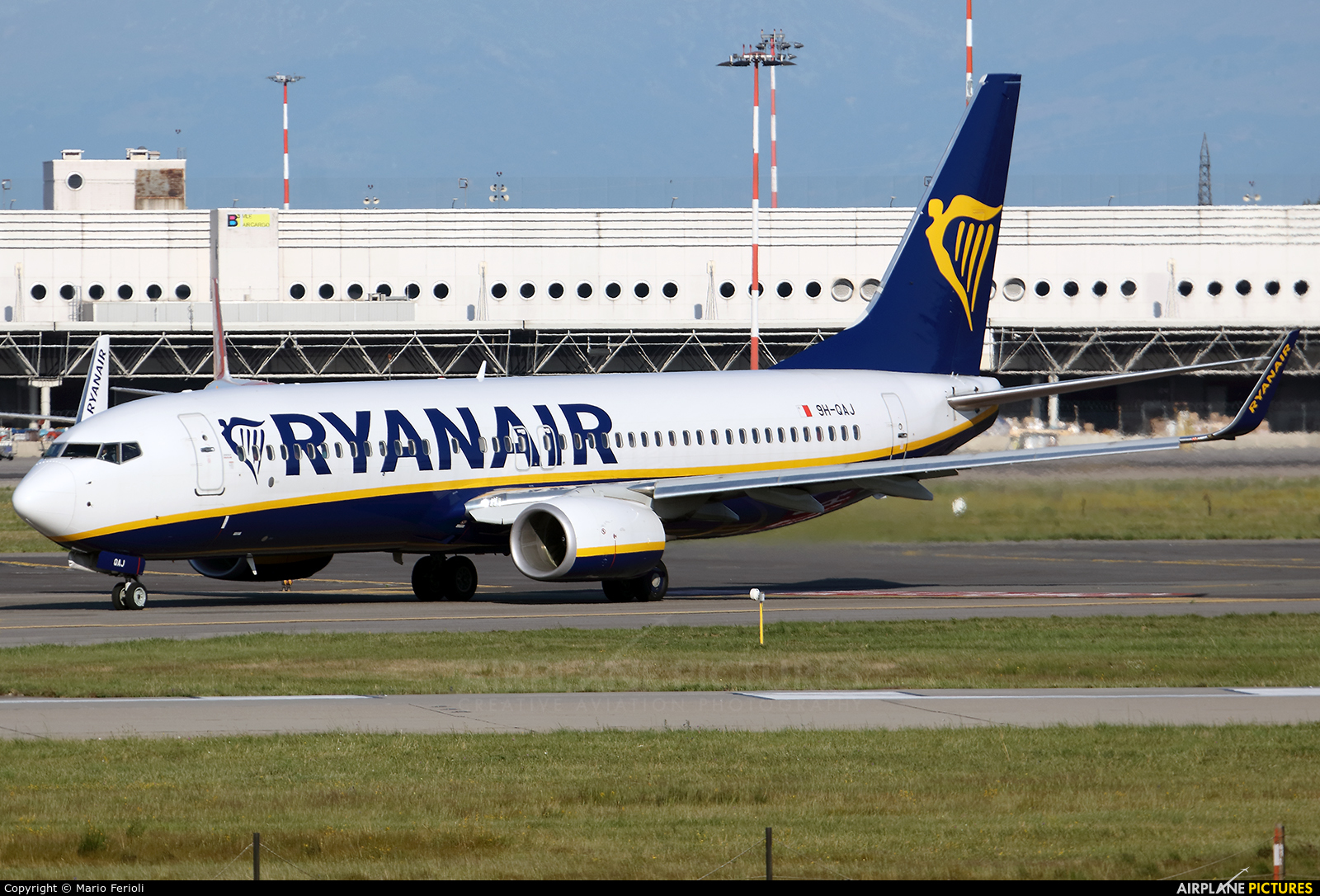 Ryanair (Malta Air) 9H-QAJ aircraft at Milan - Malpensa
