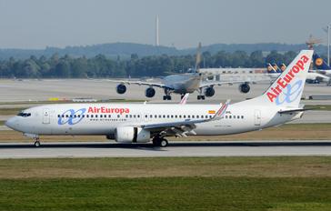 EC-JHL - Air Europa Boeing 737-800