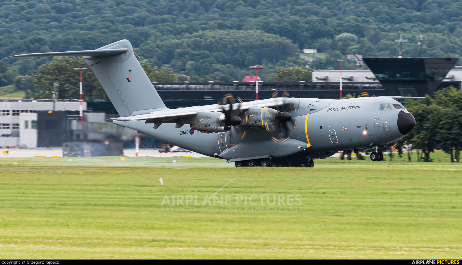 Royal Air Force ZM413 aircraft at Kraków - John Paul II Intl