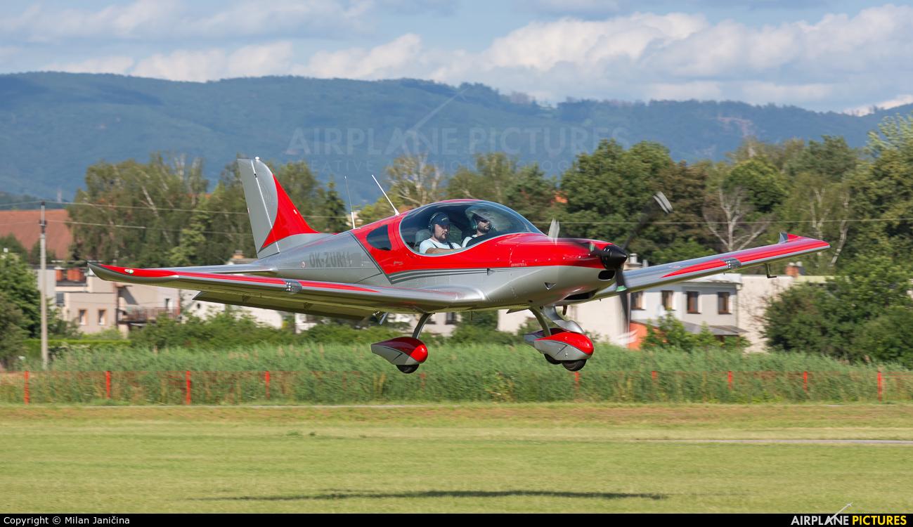 Private OK-ZUR11 aircraft at Prievidza