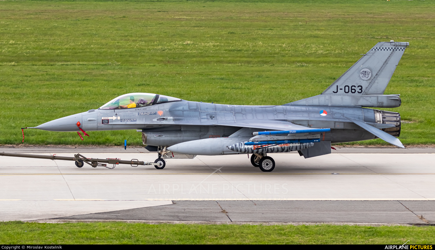 Netherlands - Air Force J-063 aircraft at Ostrava Mošnov