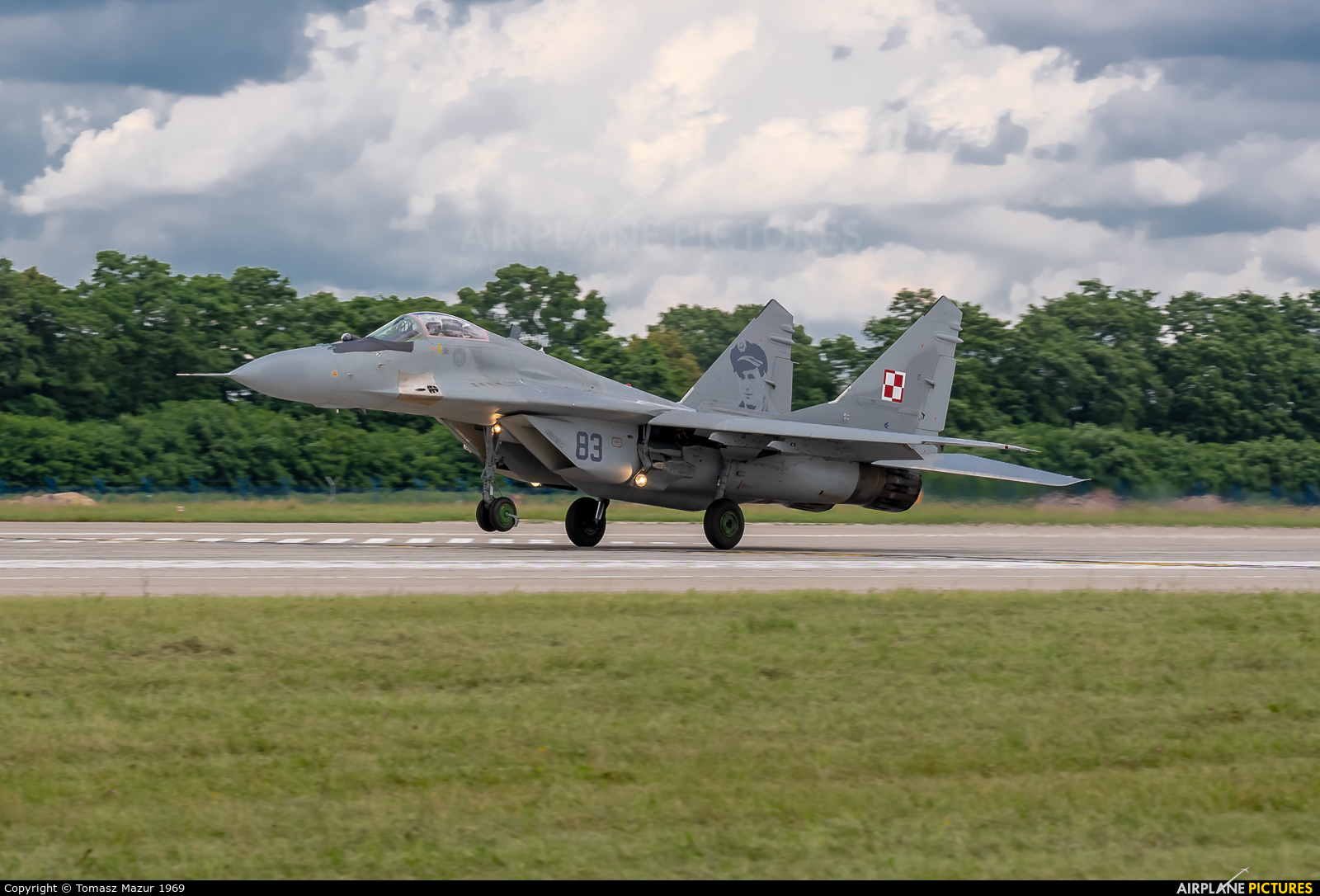 Poland - Air Force 83 aircraft at Mińsk Mazowiecki