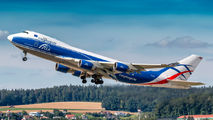 Rare visit of Cargologicair Boeing 747F to Zurich title=