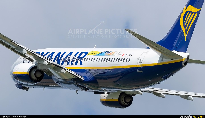 Ryanair (Malta Air) 9H-QCF aircraft at Kraków - John Paul II Intl