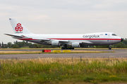 Cargolux Boeing 747-400F wears retro paint scheme title=
