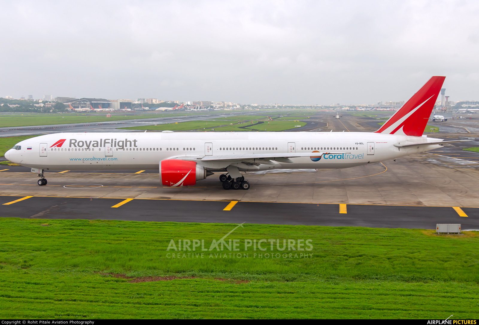Royal Flight VQ-BGL aircraft at Mumbai - Chhatrapati Shivaji Intl