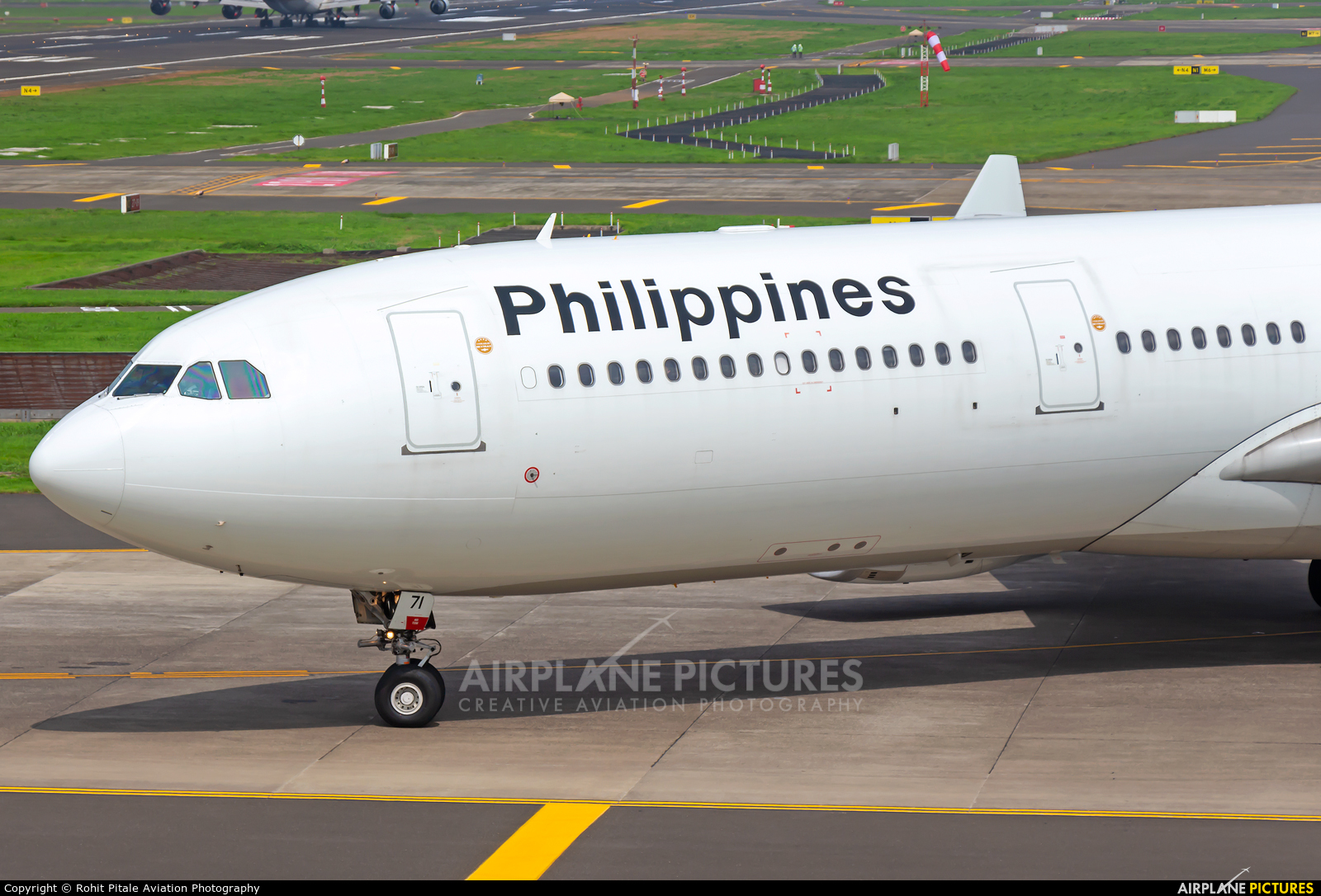 Philippines Airlines RP-C8771 aircraft at Mumbai - Chhatrapati Shivaji Intl