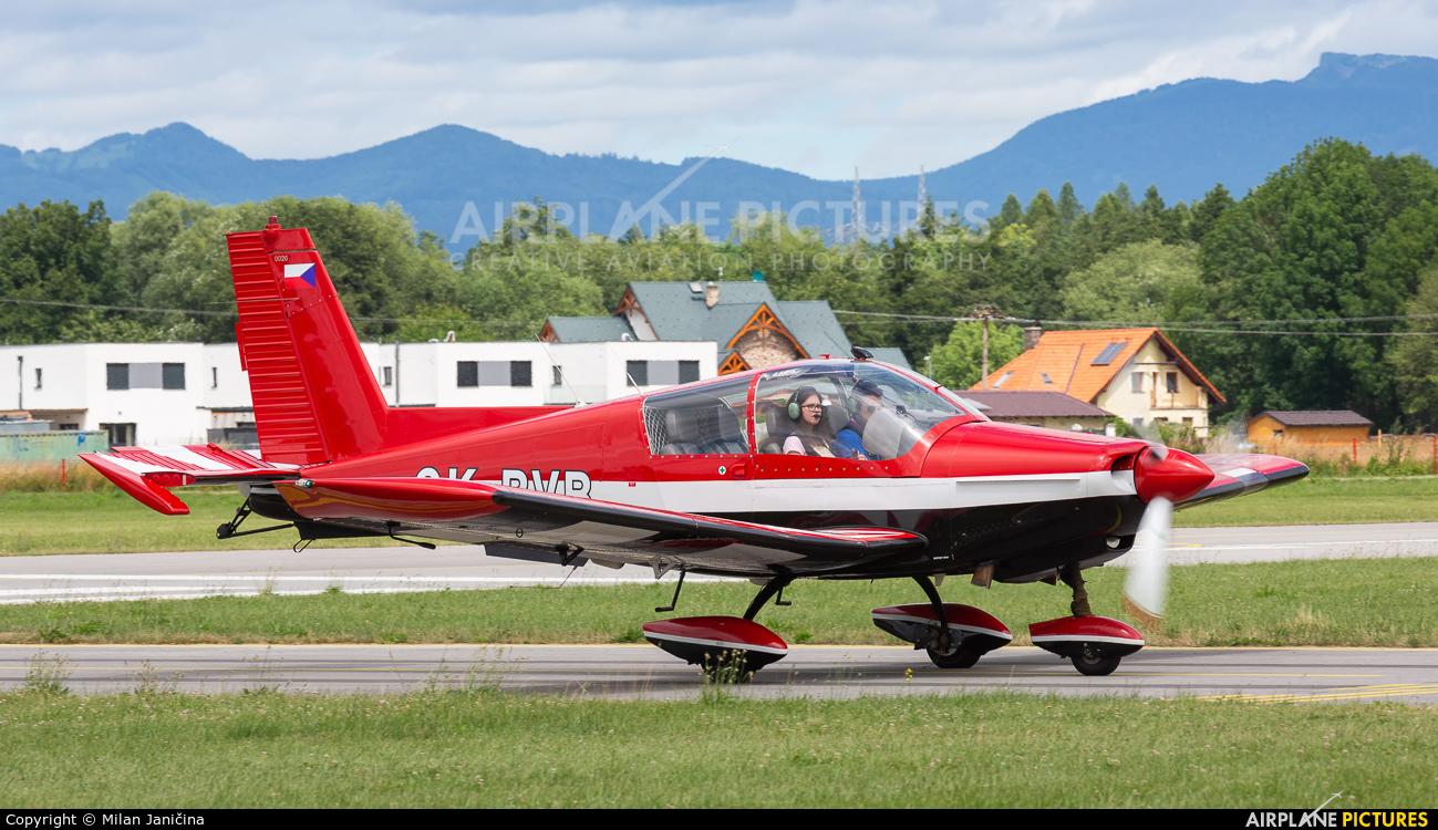 Aeroklub Bŕeclav OK-BVB aircraft at Prievidza