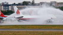 LX-NCL - Cargolux Boeing 747-400F, ERF aircraft
