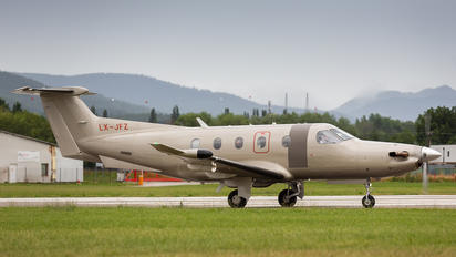 LX-JFZ - Jetfly Aviation Pilatus PC-12