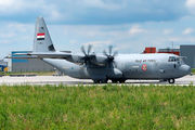 Iraqi Air Force Lockheed C-130 visited Budapest title=