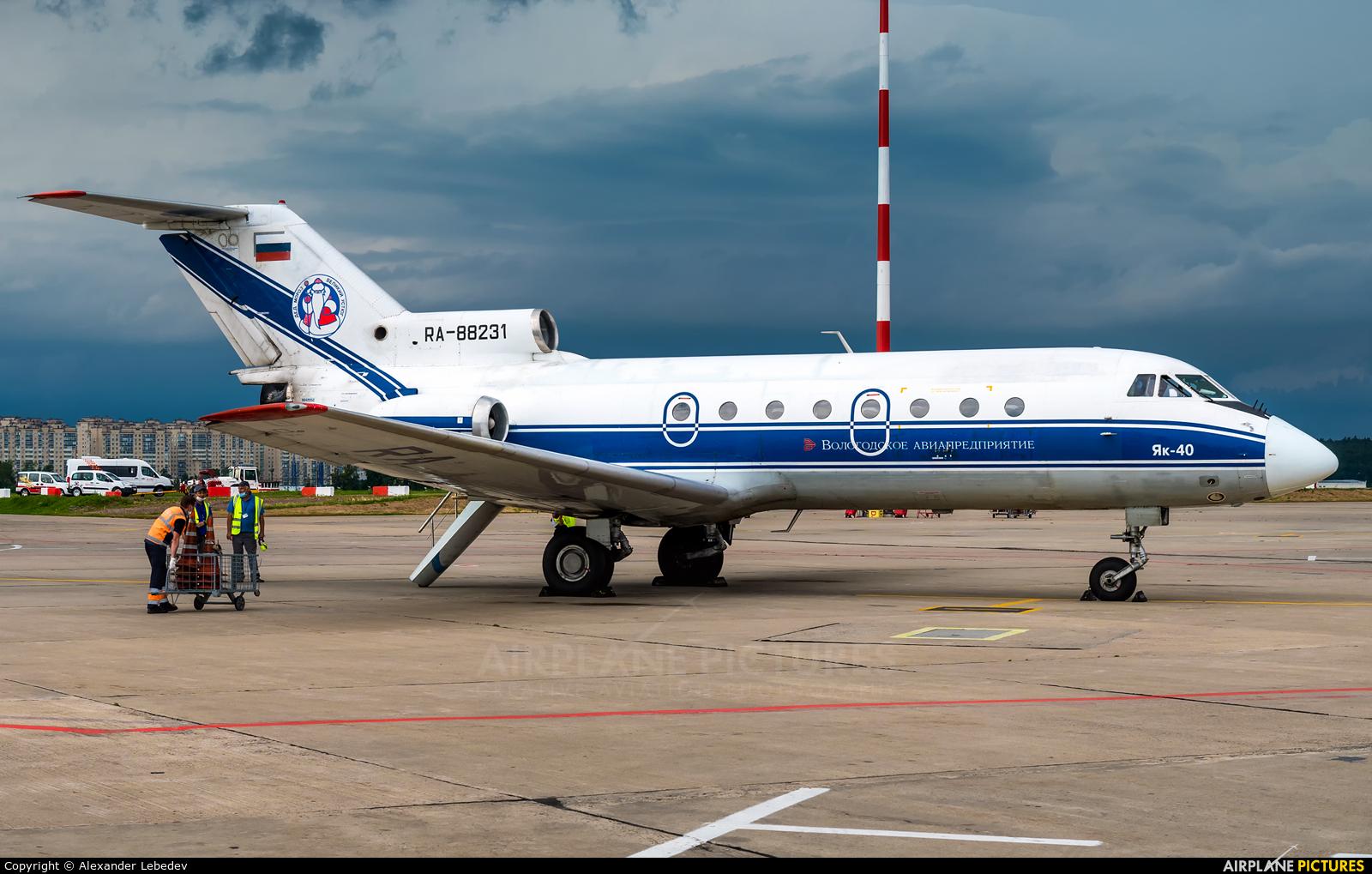 Vologda Air Enterprise RA-88231 aircraft at Moscow - Vnukovo