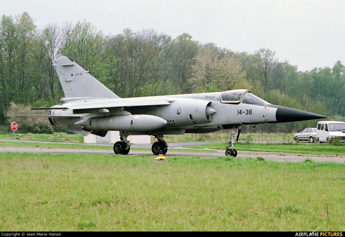 Spain - Air Force C.14-38 aircraft at Florennes