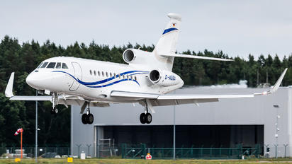 D-ABBA - Private Dassault Falcon 900 series