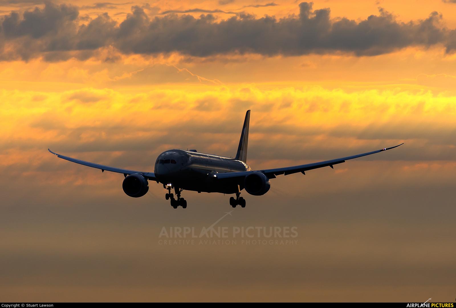 Etihad Airways A6-BLX aircraft at Brussels - Zaventem