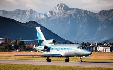 HB-JIN - Jet Aviation Business Jets Dassault Falcon 900 series