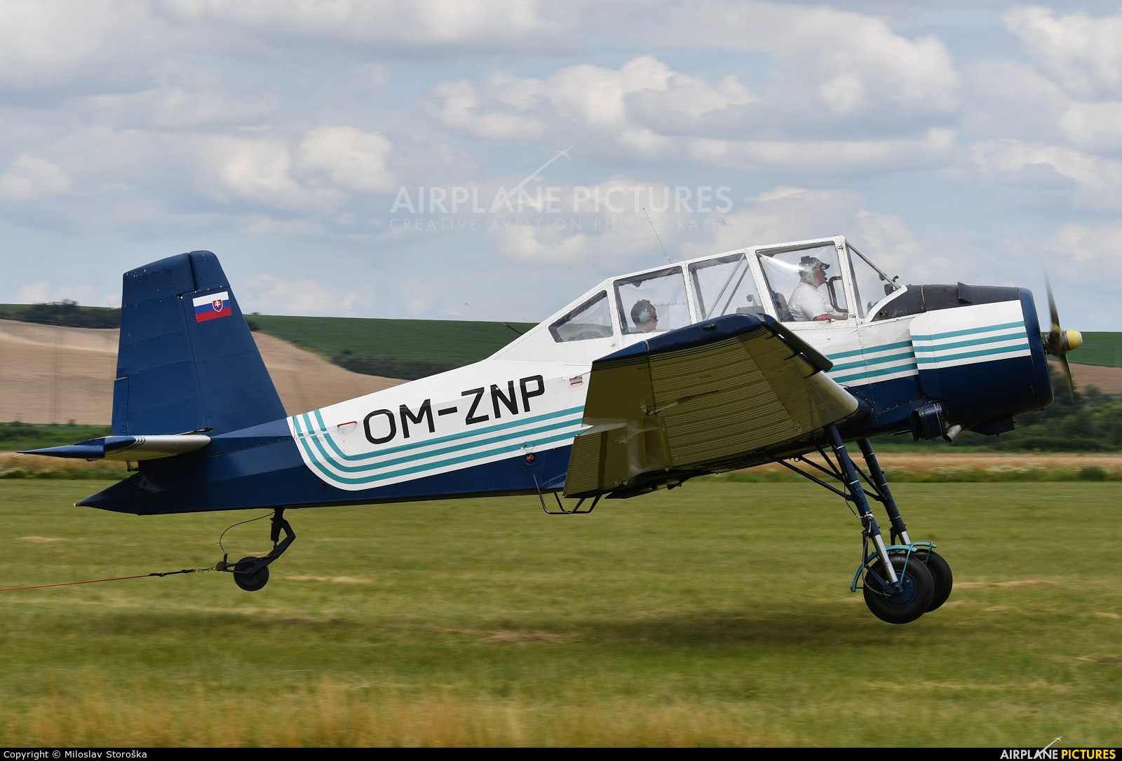 Private OM-ZNP aircraft at Partizanske