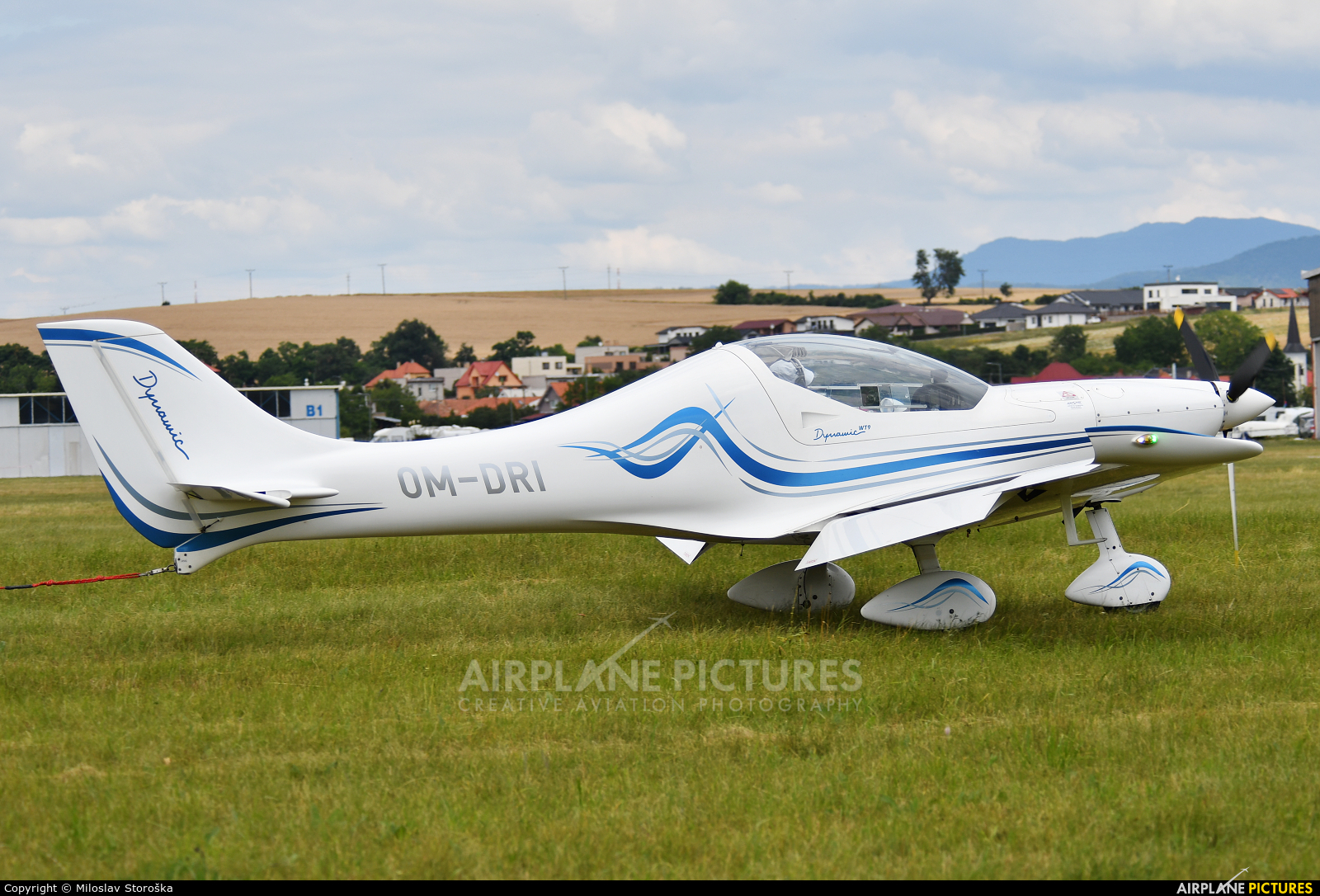 Private OM-DRI aircraft at Partizanske