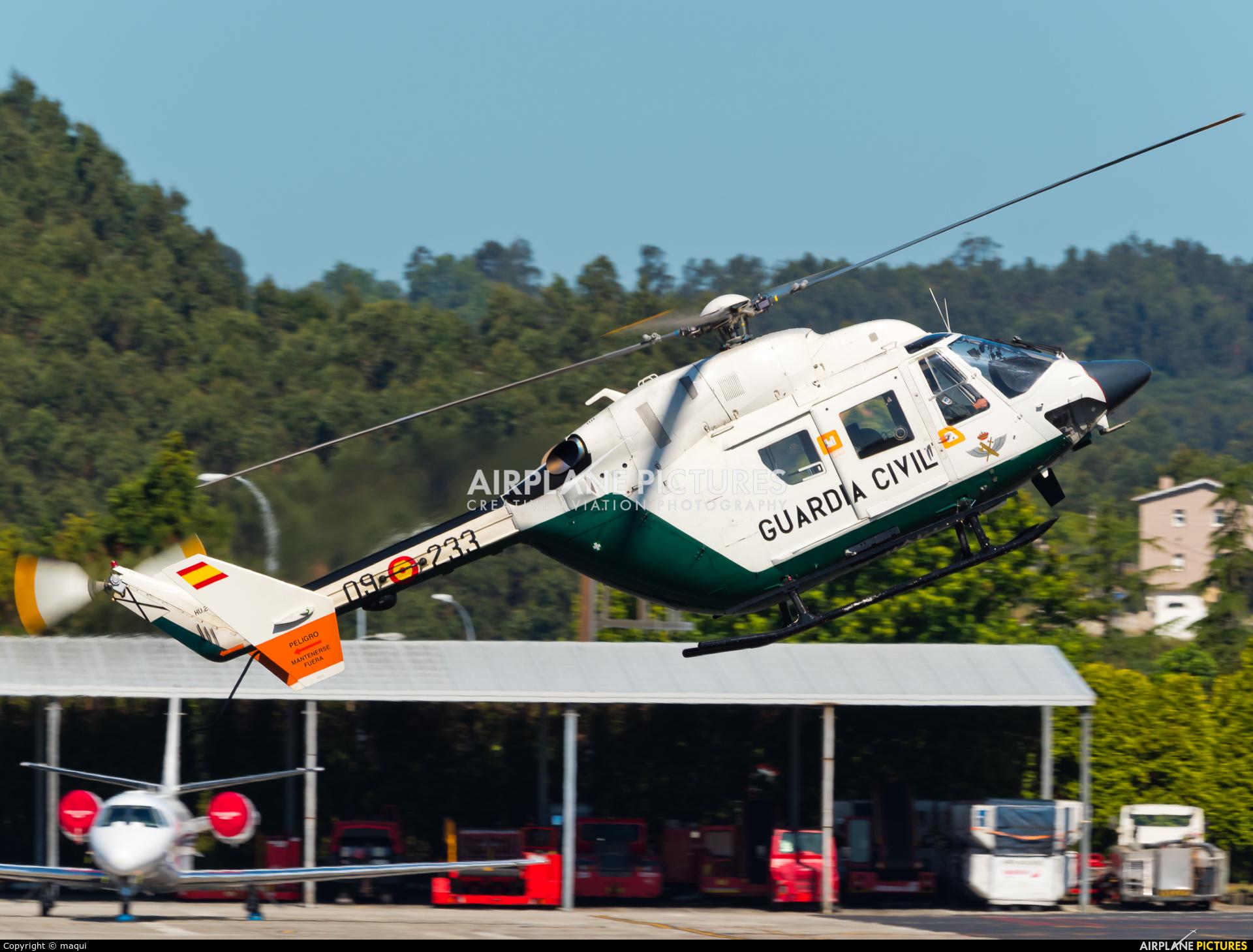 Spain - Guardia Civil HU.22-07 aircraft at La Coruña