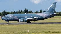 Rare visit of KlasJet Boeing 737 to Poznań title=