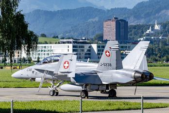 J-5238 - Switzerland - Air Force McDonnell Douglas F/A-18D Hornet