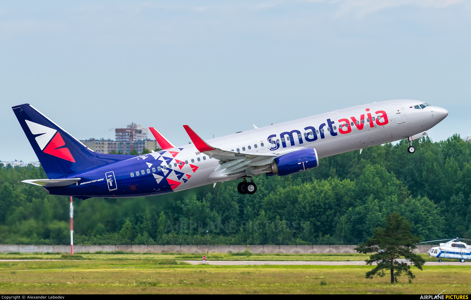 Smartavia VP-BAB aircraft at St. Petersburg - Pulkovo