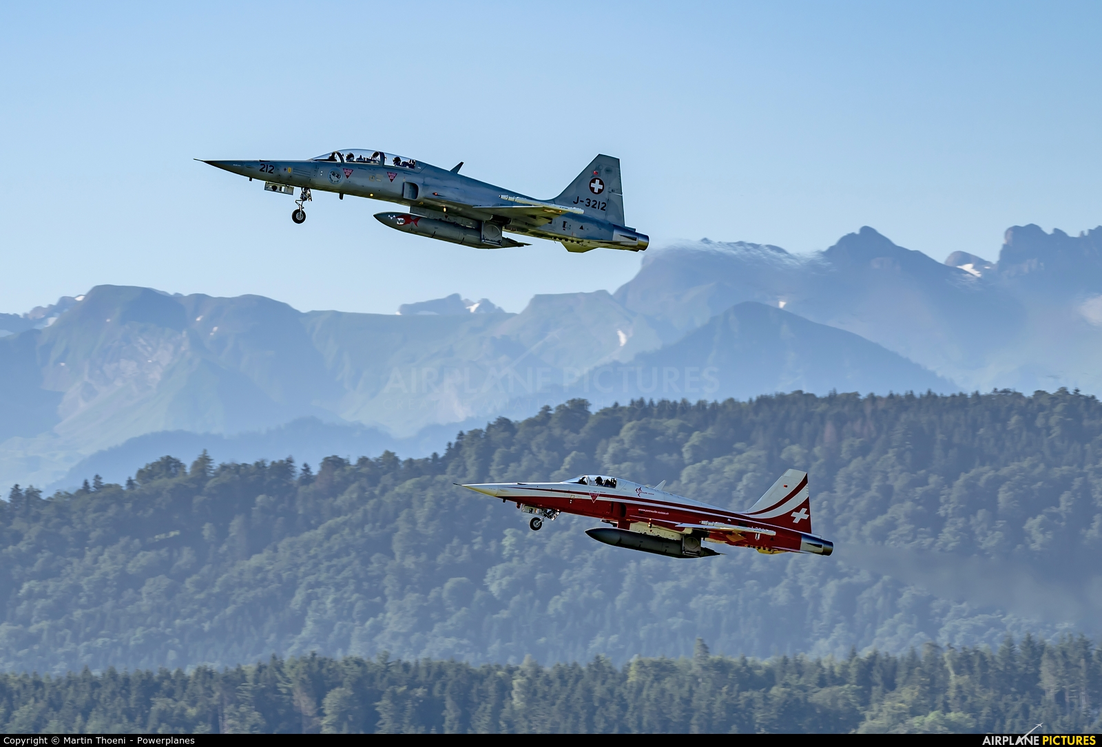Switzerland - Air Force J-3212 aircraft at Emmen
