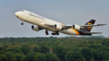 N618UP - UPS - United Parcel Service Boeing 747-8F