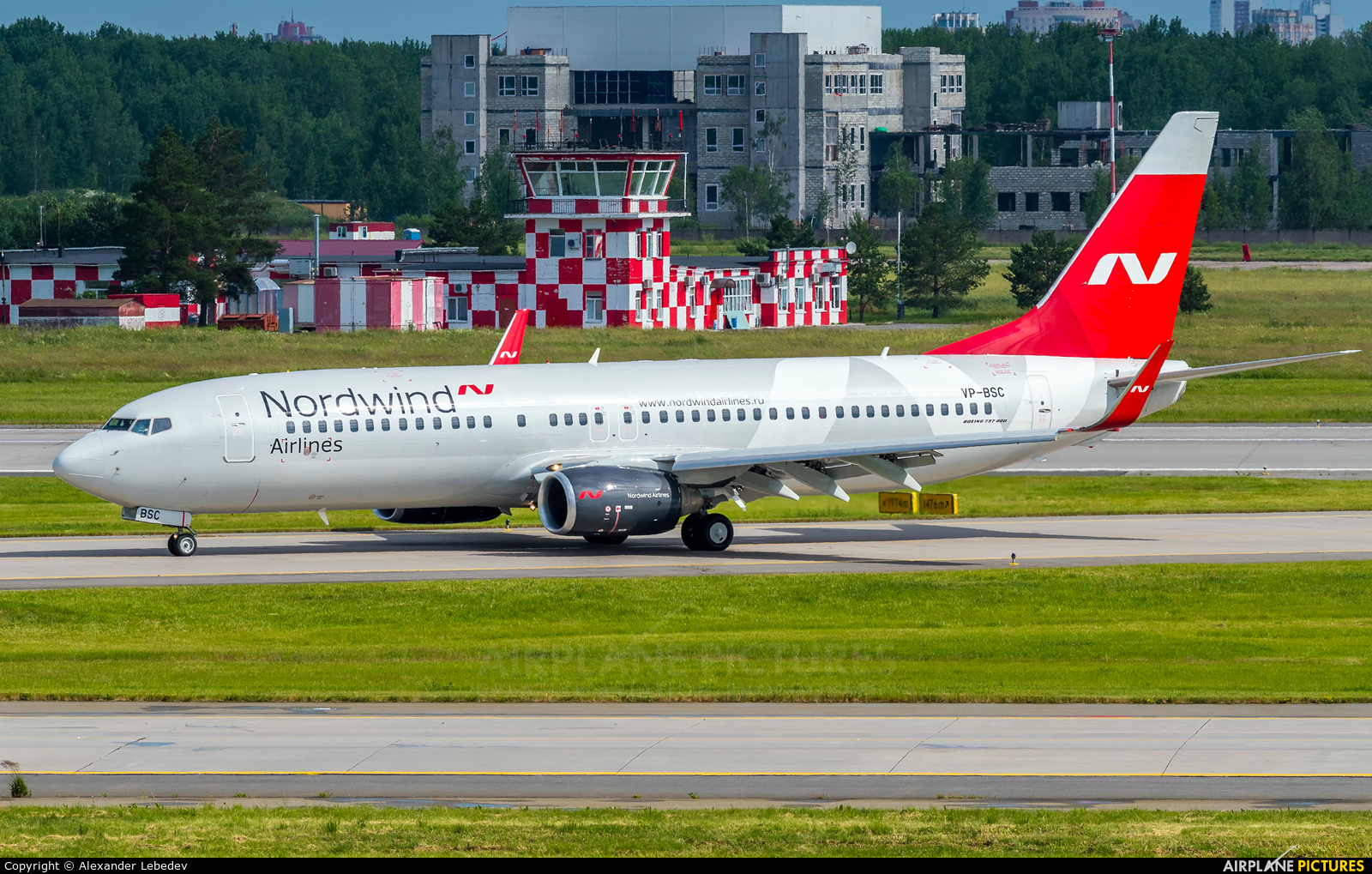 Nordwind Airlines VP-BSC aircraft at St. Petersburg - Pulkovo