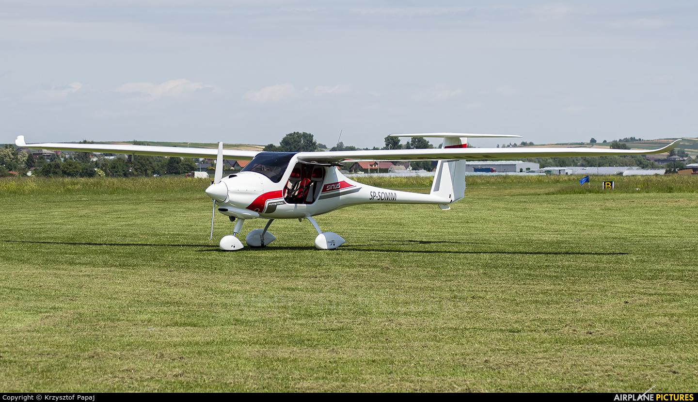 SKYDREAM SP-SOMM aircraft at Kraków - Pobiednik Wielki