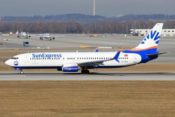 TC-SEJ - SunExpress Boeing 737-800