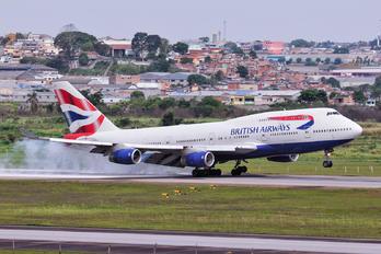 G-BNLE - British Airways Boeing 747-400