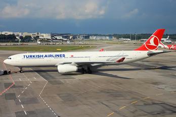 TC-JNL - Turkish Airlines Airbus A330-300