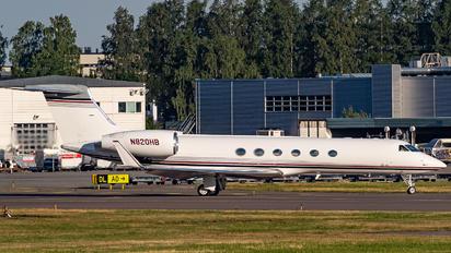 N820HB - Private Gulfstream Aerospace G-V, G-V-SP, G500, G550
