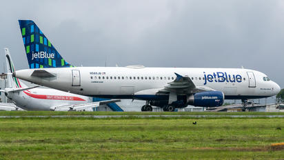 N589JB - JetBlue Airways Airbus A320