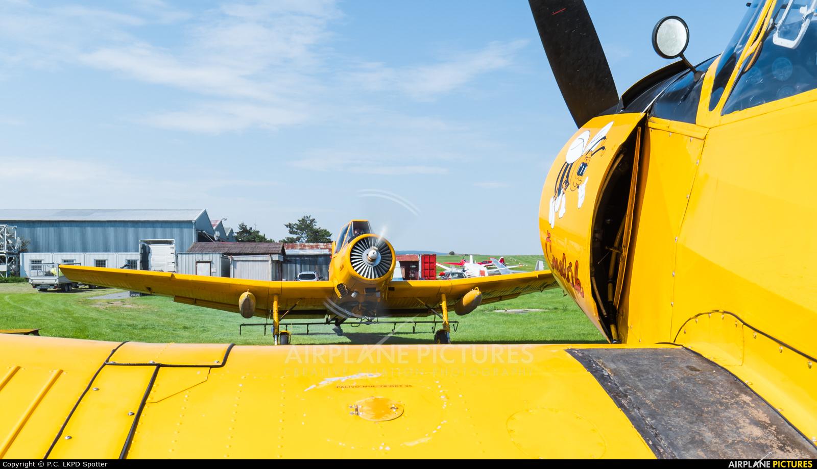 Agroair OK-KJB aircraft at Chrudim