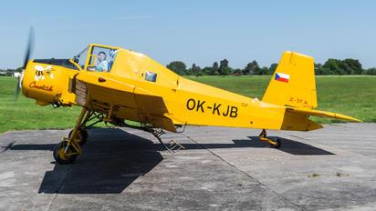 OK-KJB - Agroar Zlín Aircraft Z-37A Čmelák