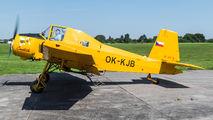 OK-KJB - Agroar Zlín Aircraft Z-37A Čmelák aircraft