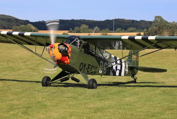 OY-ECV - Private Piper L-4 Cub