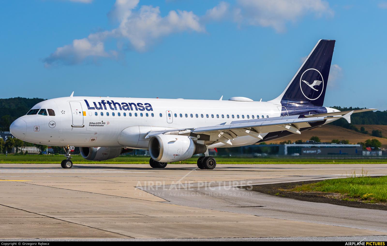 Lufthansa D-AILM aircraft at Kraków - John Paul II Intl
