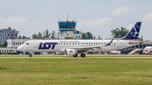 SP-LNK - LOT - Polish Airlines Embraer ERJ-195 (190-200) aircraft